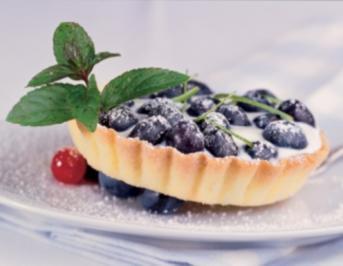 Heidelbeer-Buttermilch-Tartelettes - Rezept