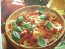 Salami Pasta Salat - Rezept