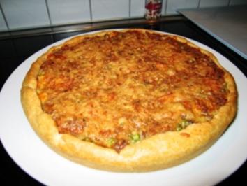 Hackfleisch-Schmand-Torte - Rezept