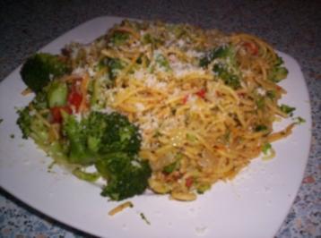 Spaghetti mit Broccoli und Cocktailtomaten - Rezept