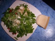 Pasta mit Ruccola und Schafskäse - Rezept