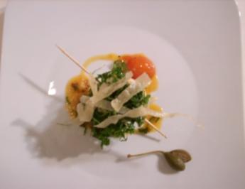 Involtini vom Pangasius auf Tomatenragout - Rezept