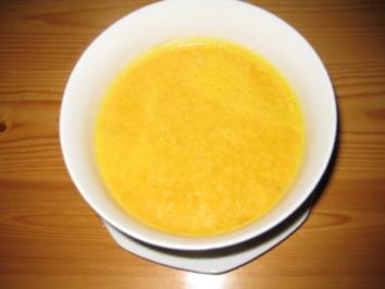 Kürbis-Apfel-Cremesuppe - Rezept