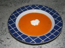 Tomaten-Karottensuppe - Rezept