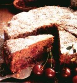 Schwarzer Kirschkuchen - Rezept