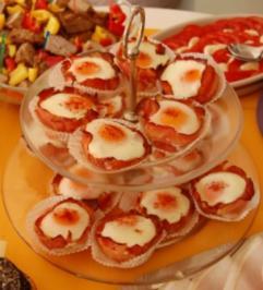 Rezept: Gebackene Eier im Speckmantel
