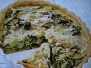 Spinat-Quiche mit Fetakäse - Rezept
