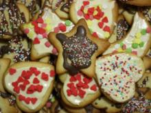 Weihnachtsplätzchen (zum Ausstechen) - Rezept - Bild Nr. 2