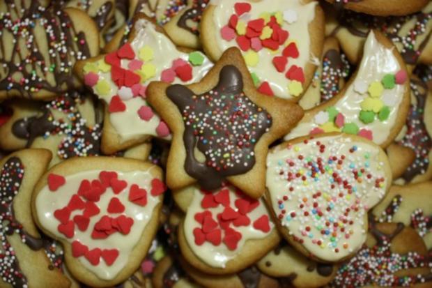 Suche Rezepte Für Weihnachtsplätzchen.Weihnachtsplätzchen Zum Ausstechen