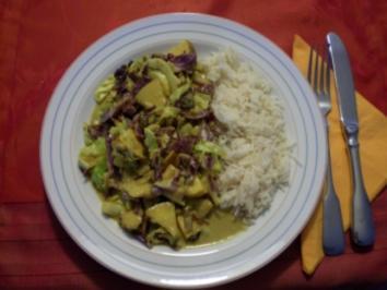 Rezept: Spitzkohl aus dem Wok
