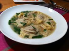 Wan Tan Suppe - Rezept