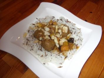 Rezept: Hackbällchen in marokkanischer Zwiebelsosse
