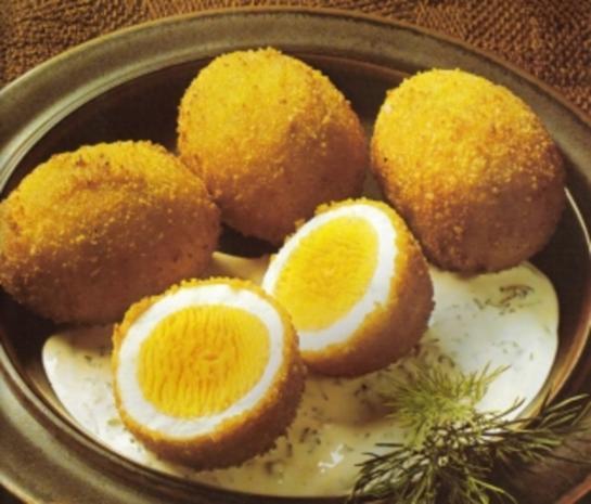Eier gebacken - Rezept