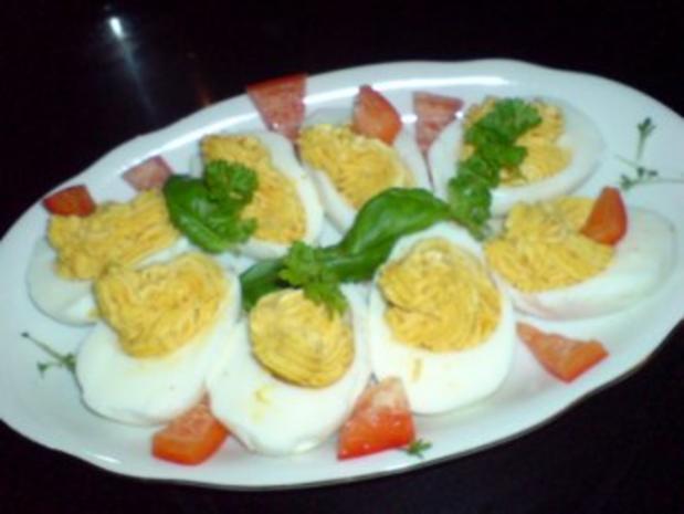 Gefüllte Eier - Rezept - Bild Nr. 2