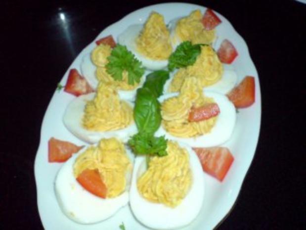 Gefüllte Eier - Rezept - Bild Nr. 8