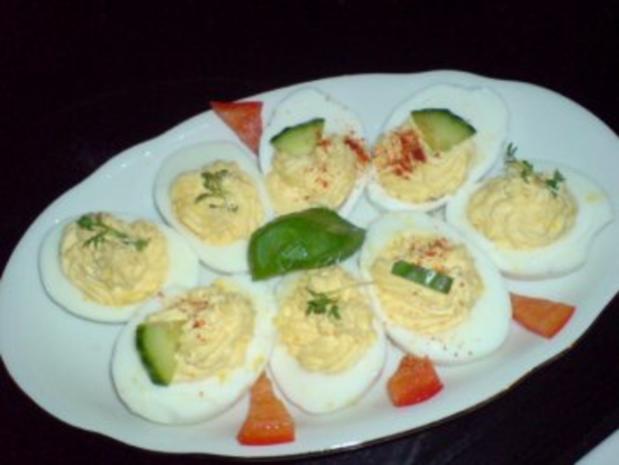 Gefüllte Eier - Rezept - Bild Nr. 9
