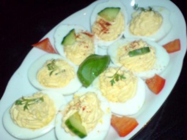 Gefüllte Eier - Rezept - Bild Nr. 3