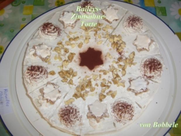 Torten: Baileys-Zimtsahne-Torte - Rezept