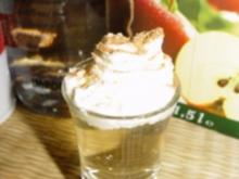 flüssiger Apfelkuchen - Shot - Rezept