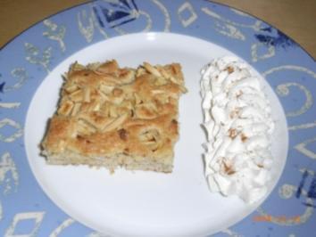 Bratapfelkuchen - Rezept