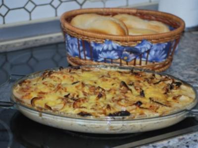 Zwiebel-Sahne-Schnitzel - Rezept