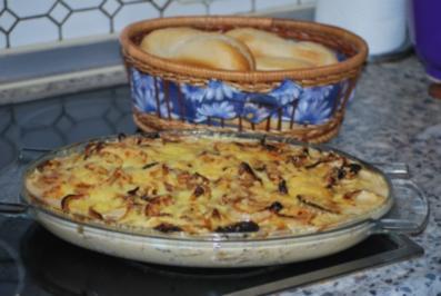 Rezept: Zwiebel-Sahne-Schnitzel