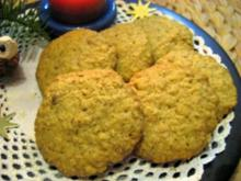 Kekse von Haferflocken - Rezept