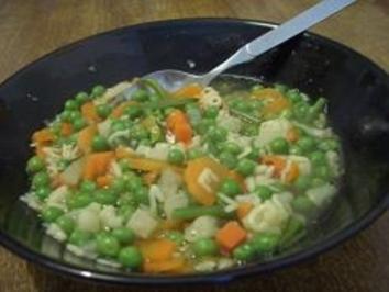 Gemüse Suppe/ Eintopf - Rezept
