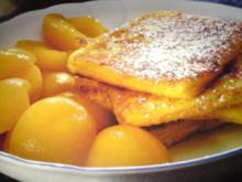 Kartoffelecken mit Kompott - Rezept