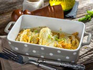 Fenchel mit Käse überbacken - Rezept - Bild Nr. 2