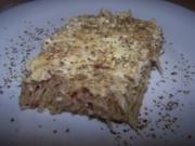 Kartoffel-Sauerkraut-Pizza - Rezept