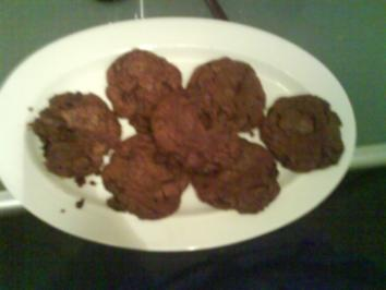 Double Choc Cookies - Rezept