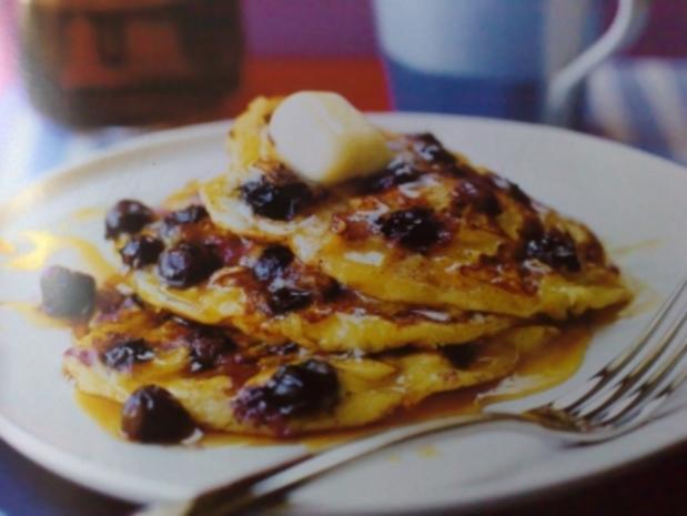 Blaubeer-Pfannkuchen - Rezept