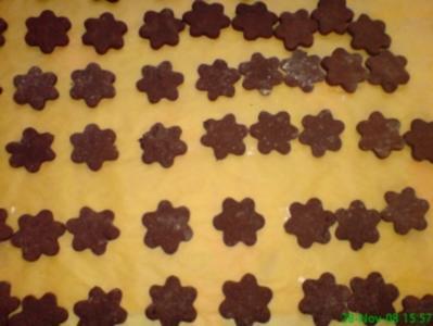 Schokoladenkekse mit Pfefferminzfüllung - Rezept