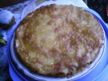 Apfelkuchen verkehrt rum - Rezept