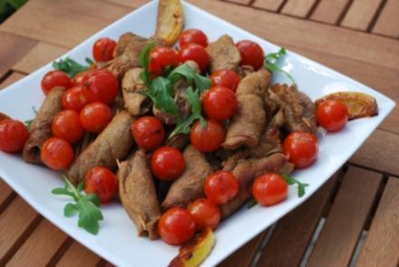 Marsala-Kalbspießchen - Rezept