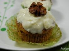 Karotten Cupcakes - Rezept