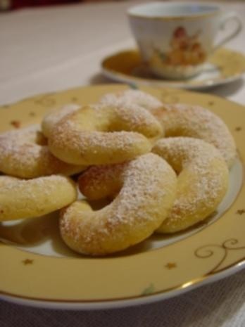 Plätzchen : Wiener Vanillekipferl - Rezept