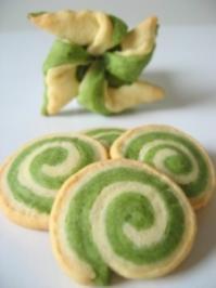grüne Kekse - Rezept