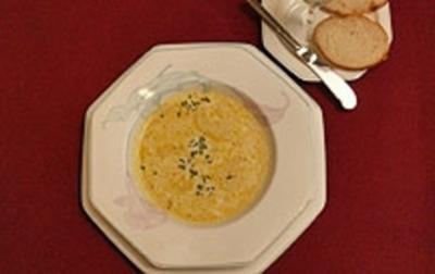 Burgunder Käsesuppe - Rezept