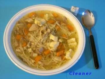 Hühnersuppe hausgemacht - Rezept