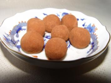Rezept: Pralinen : Zimt - Marzipan - Kartoffeln