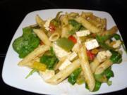 Mediteraner Nudelsalat - Rezept