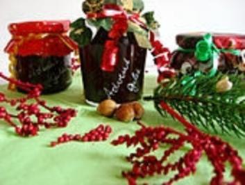 Gelee mit weihnachtlichem Geschmack - Rezept