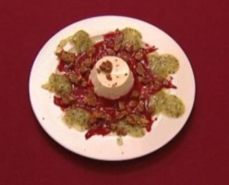 Joghurtcrème auf Himbeer-Kiwischaum (Thorsten Havener) - Rezept