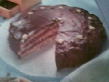 Schokoladen-Creme-Torte - Rezept