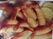 Fritierte Garnelen - Rezept
