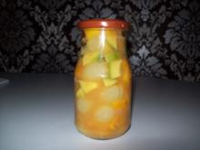 Chutney aus Mango - Papaya - Avocado und Weintrauben - Rezept