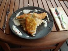 Fisch ~ Zanderfilet im Reibekuchenmantel - Rezept
