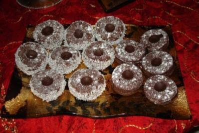Weihnachtsplätzchen: Schoko-Taler - Rezept